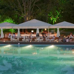 Grand Hotel Varna party beach 1