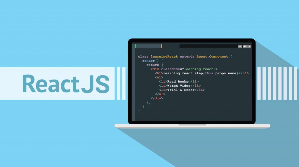 ReactJS, coding text