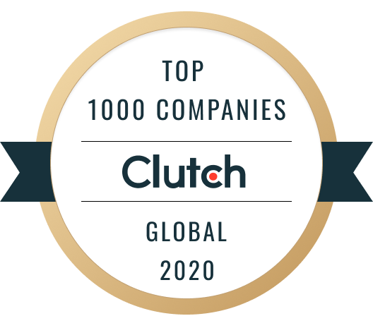 Roweb Proud to be Listed as a Top Development Partner on the 2020 Clutch 1000