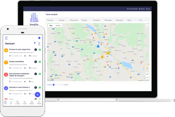 Roweb launches SmartCity: the complete solution for safer and simplified public services