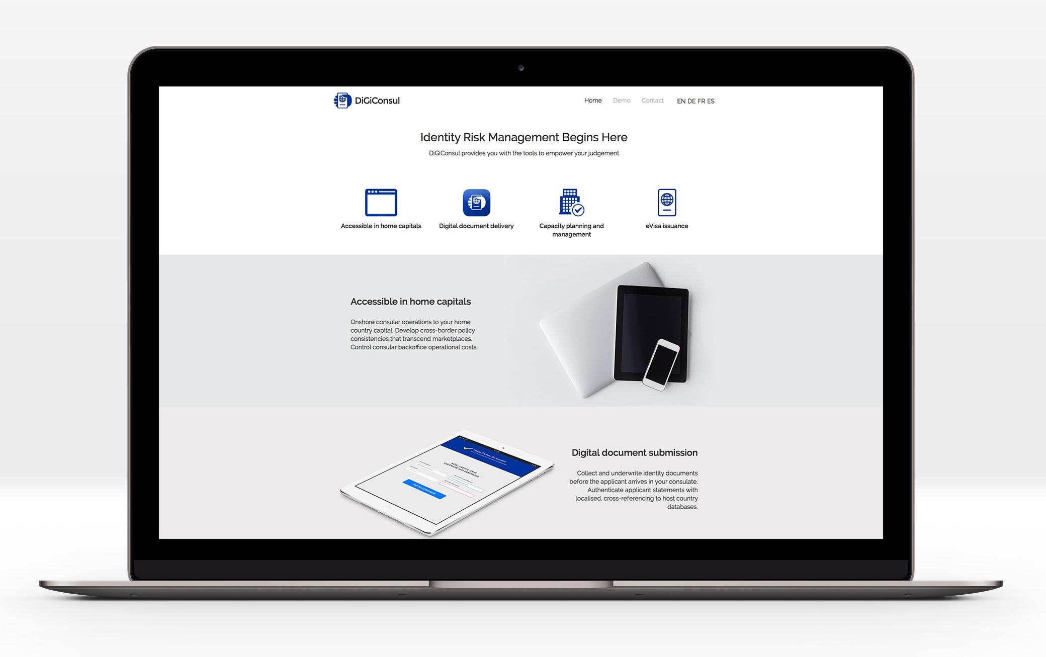 Digiconsul presentation website roweb for Mongodb consul