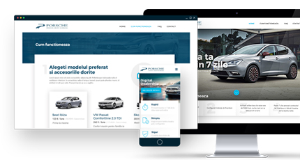 e-commerce solution for selling cars