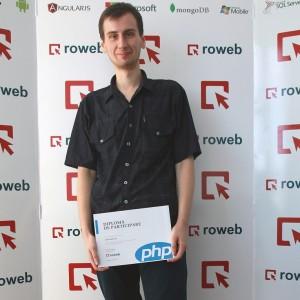 roweb summer internship - PHP